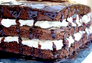 Bolo de Brownie